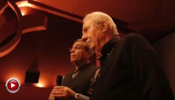 Η χαιρετιστήρια ομιλία του τιμηθέντος Γιώργου Μιχαλακόπουλου...